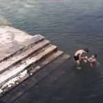 Ghost Caught Near Swimmers: Scary Ghost Encounters