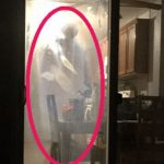 Woman haunted by shadow figures comes home to find one lurking in her house