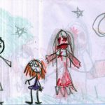11 Pictures Drawn By A Girl Who Had An Imaginary Friend. The Last One Sent Chills Down My Spine