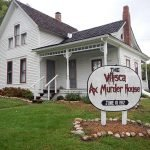 Ghost hunter stabs himself in the chest while staying overnight at ax murder house where six children and two adults were killed in 1912