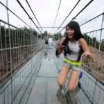 China Glass Bridge Crack Effect