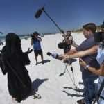 Florida man stalks beach as Grim Reaper to protest reopening amid pandemic